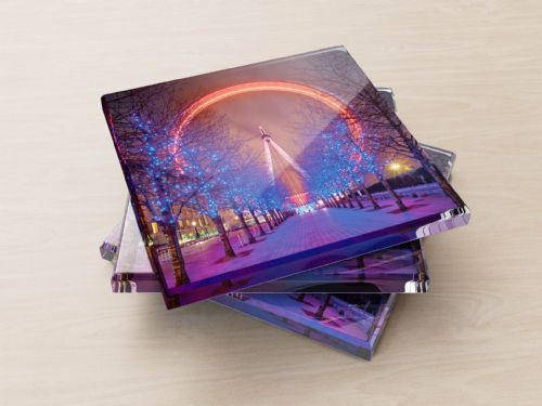 The Millennium Wheel - Glass Coasters